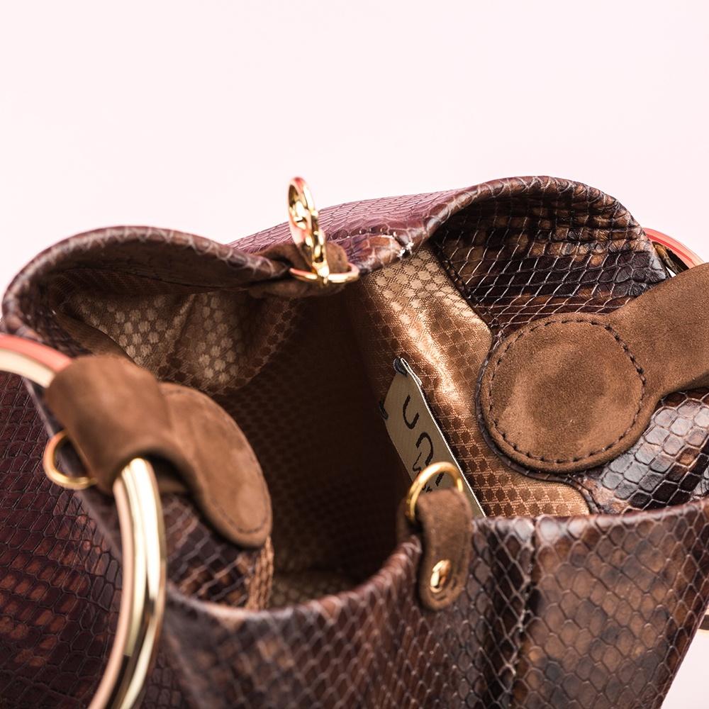 UNISA Snake print bucket bag ZBIOSIN_VP livanto 2