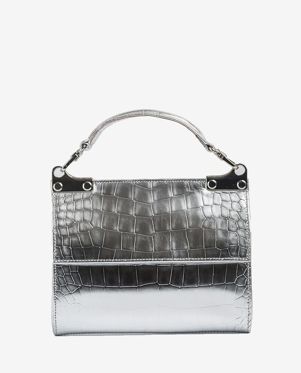 UNISA Silver hand bag ZAMAL_CP silver 2