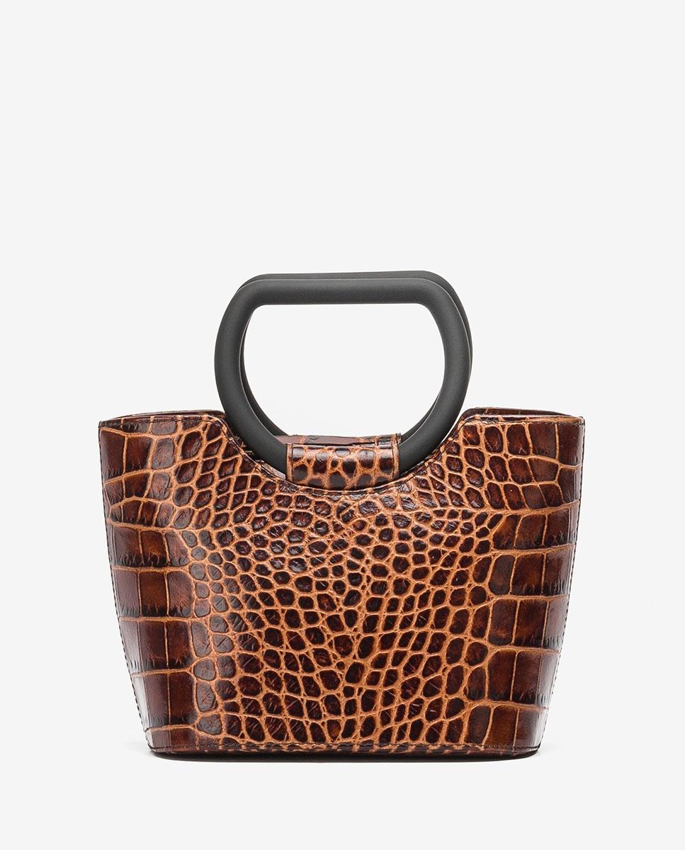 UNISA Small basket style croc effect handbag ZBADET_LAO wonka 2