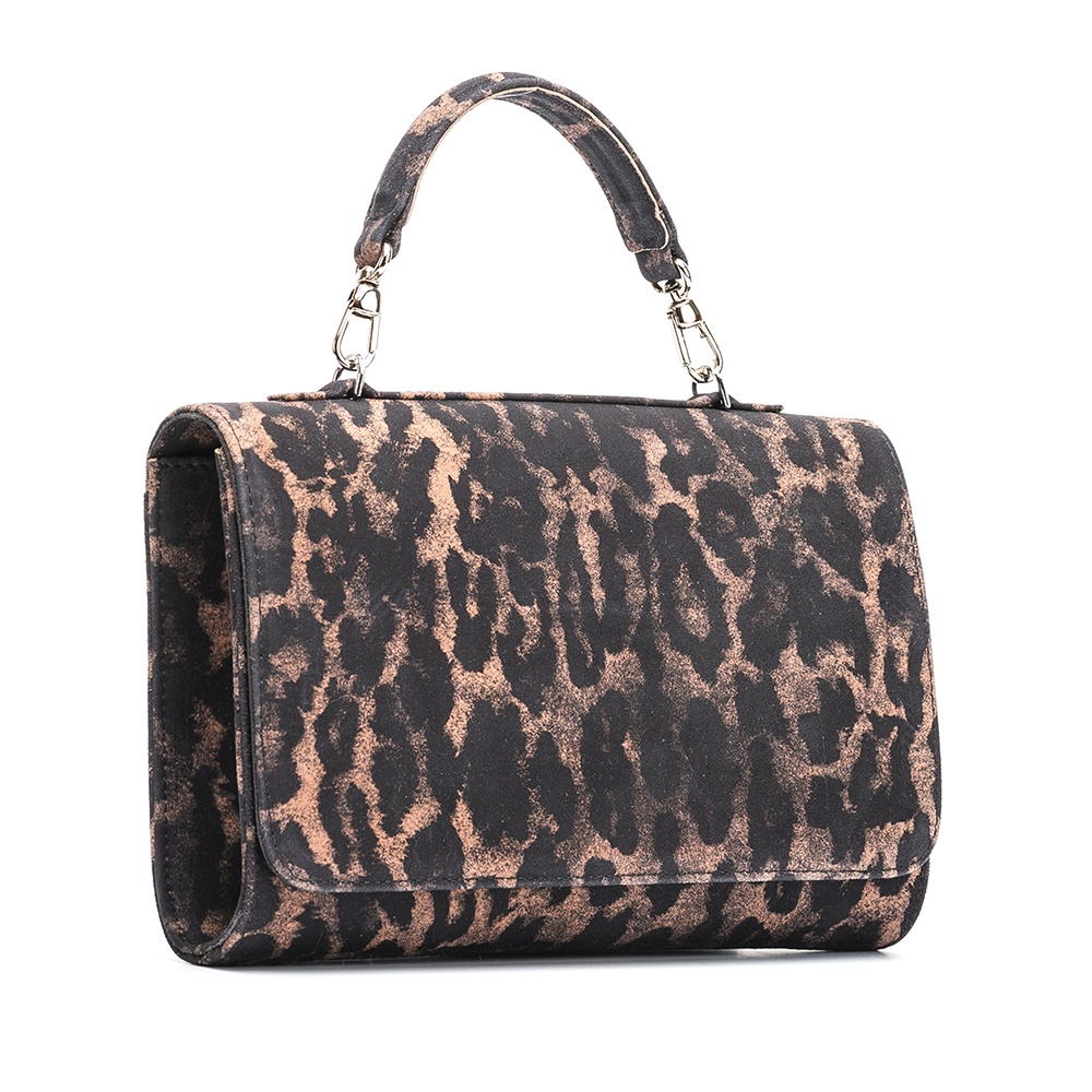 UNISA Animal print handbag ZCHARLOTE_JA tan 2