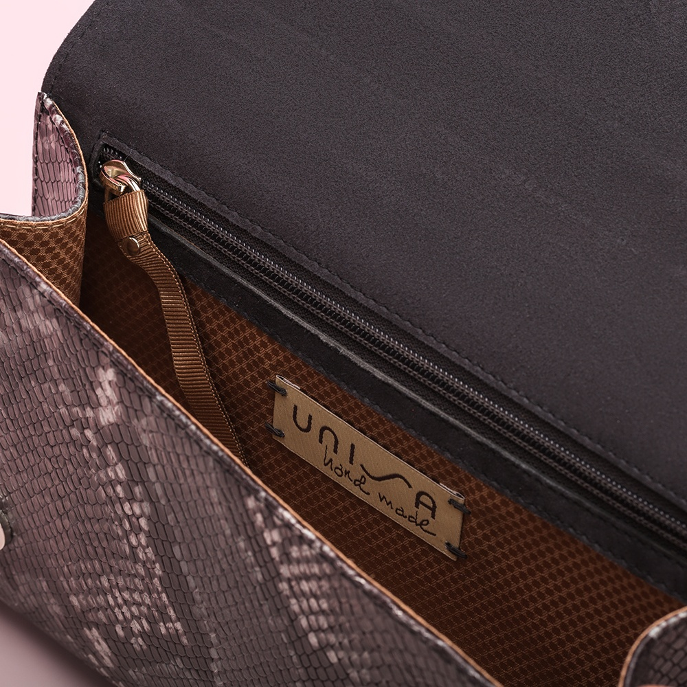 UNISA Snake print handbag ZCHARLOTE_VP tempest 2