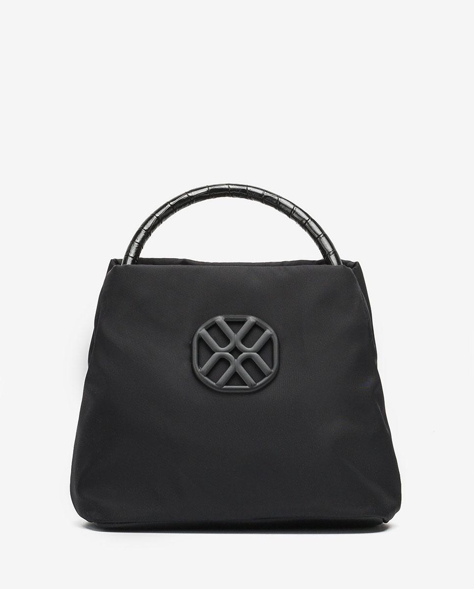 UNISA Handbag with double handle ZDULA_BUS_LAU black 2