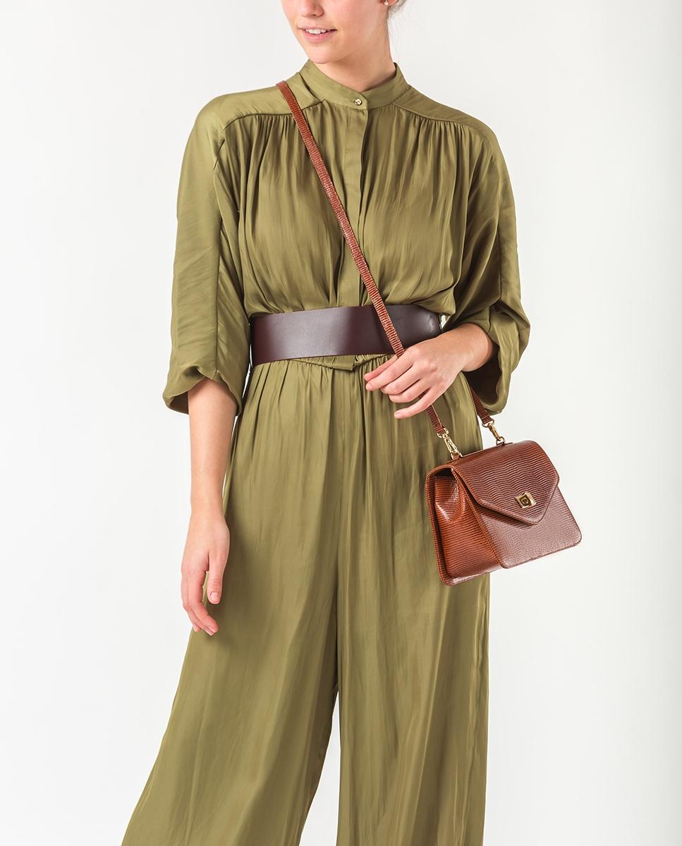 UNISA Handbag with shoulder strap ZGASOL_LI cuir 2