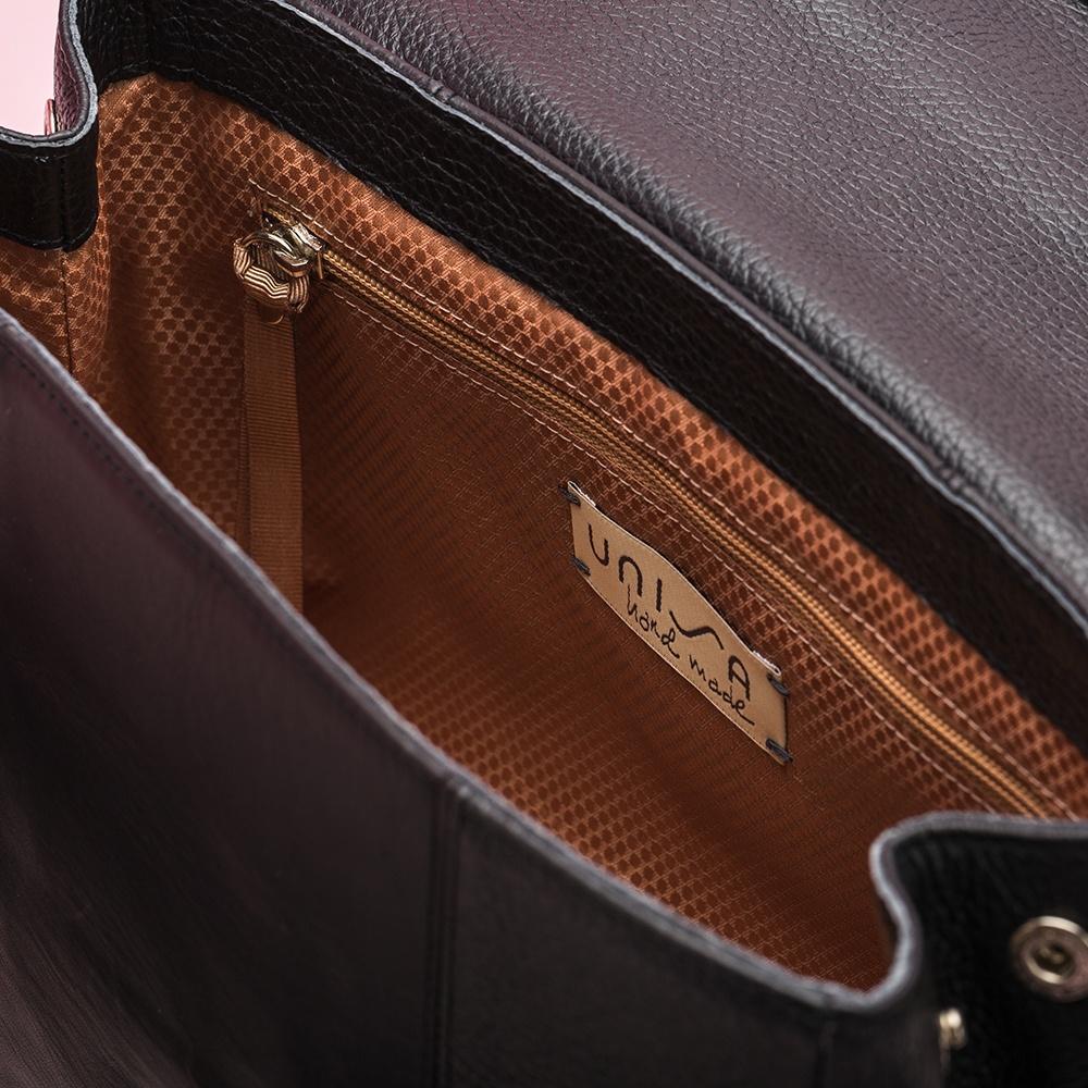 UNISA Black handbag ZGUISO_MM black 2