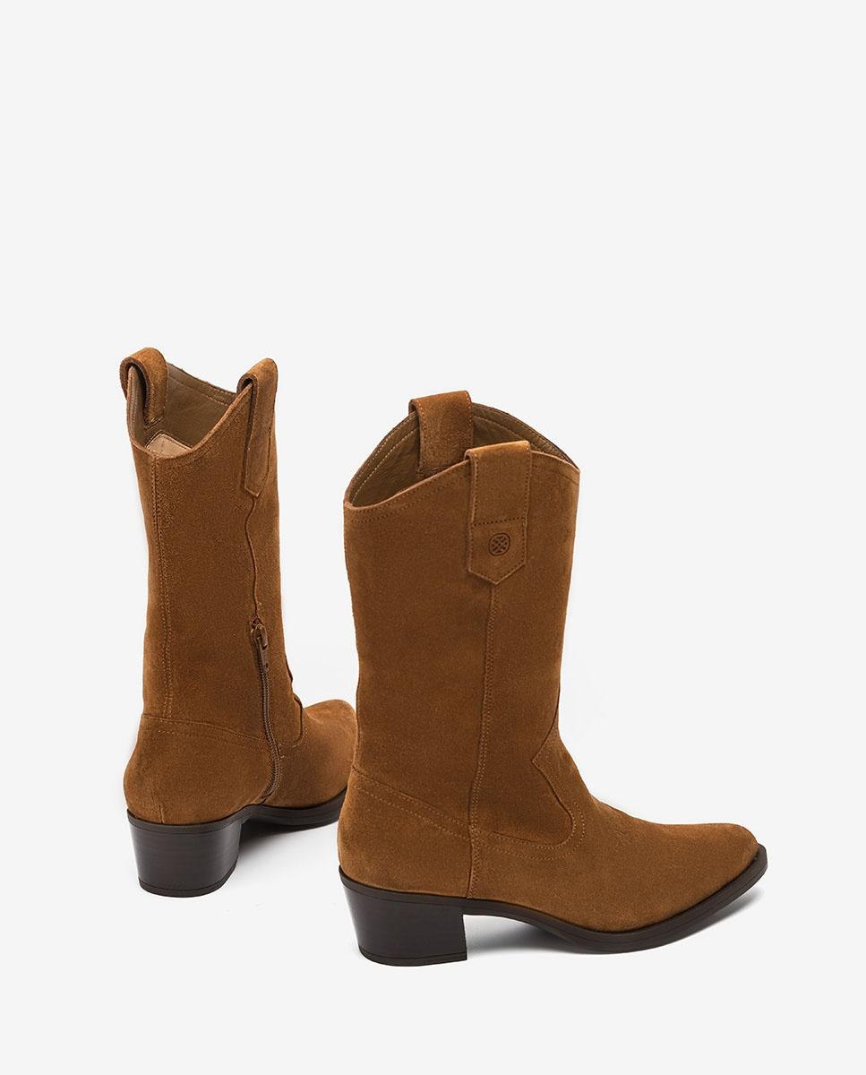UNISA Kid suede cowboy boots GLADIS_F20_BS ecian 2