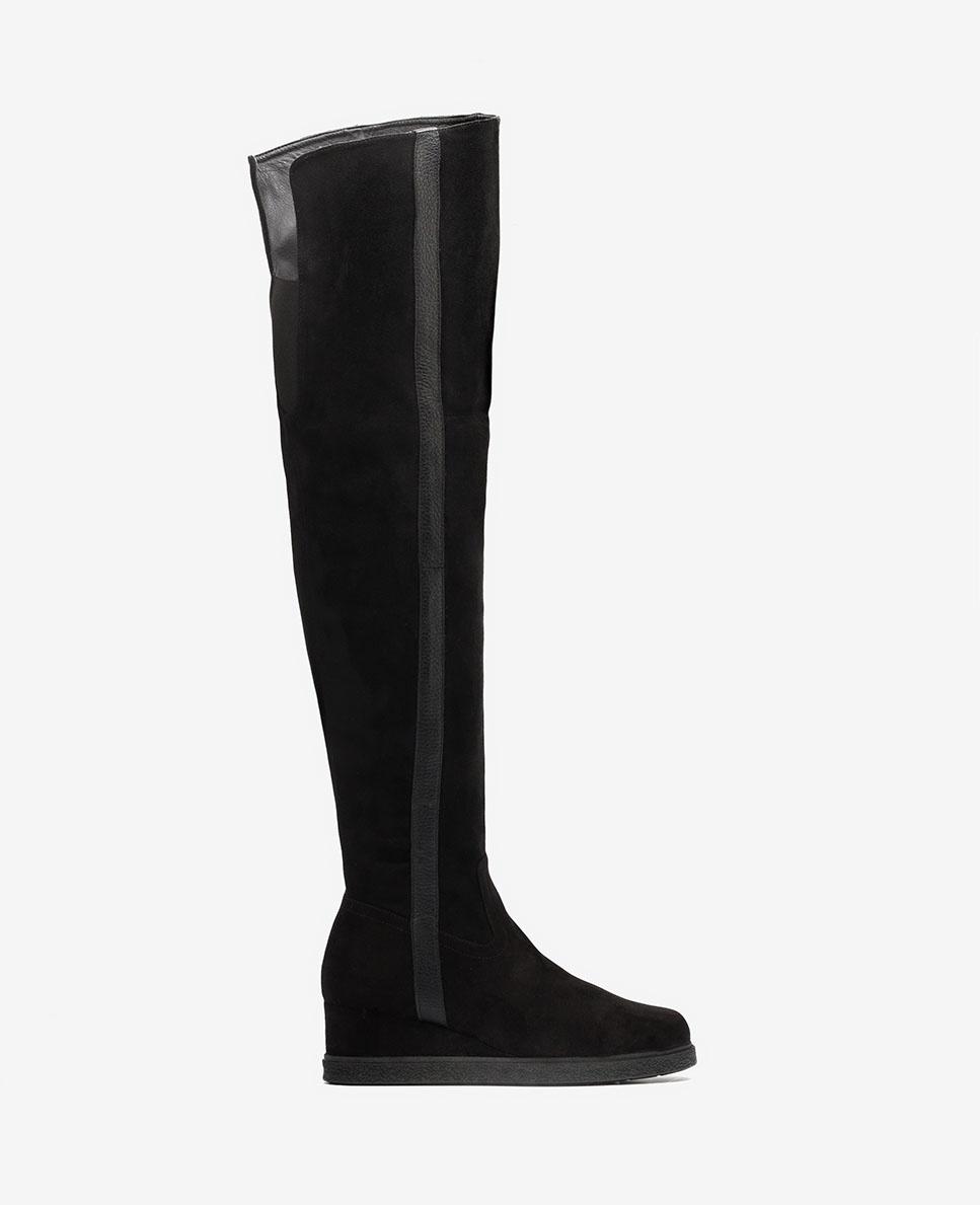 UNISA Wedge musketeer boots JUSTI_ST black 2