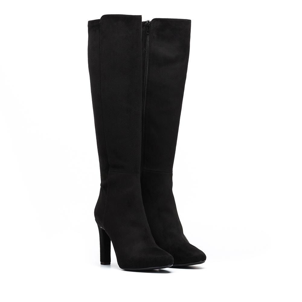 UNISA Elastic boots with heel PHIL_ST black 2