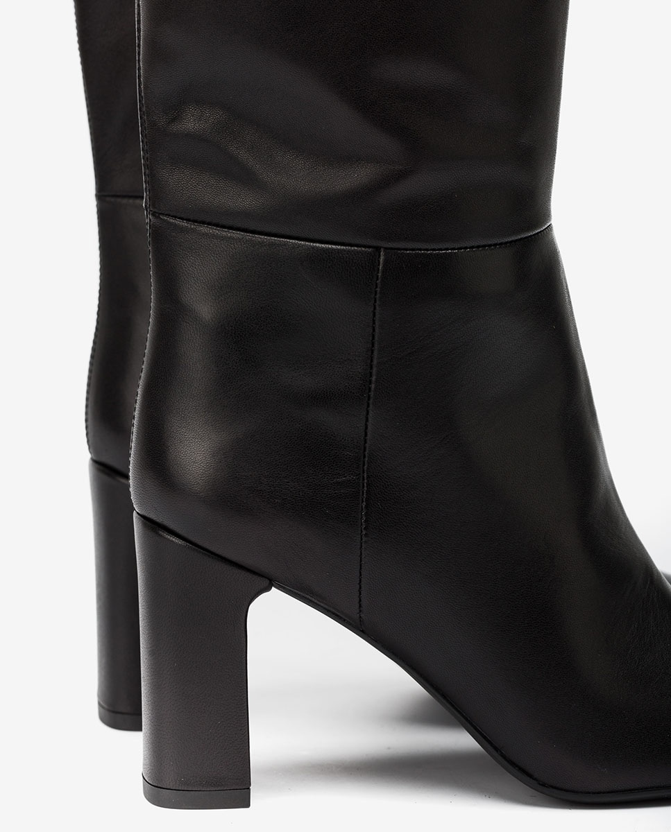 UNISA Black boots wide shaft USTED_VU black 2
