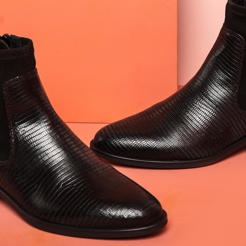 Unisa Ankle boots BOHEME_BTJ_STL black