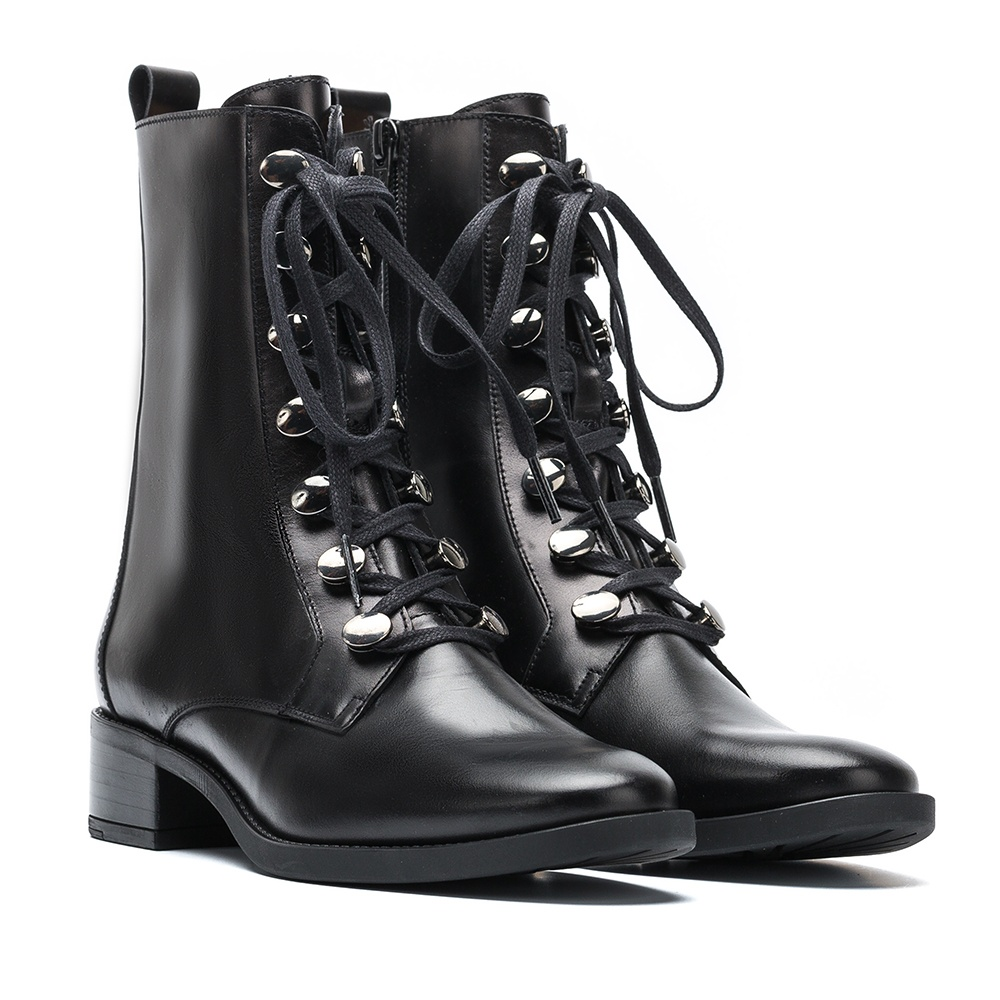 UNISA Dress up leather booties EUGEN_NE black 2