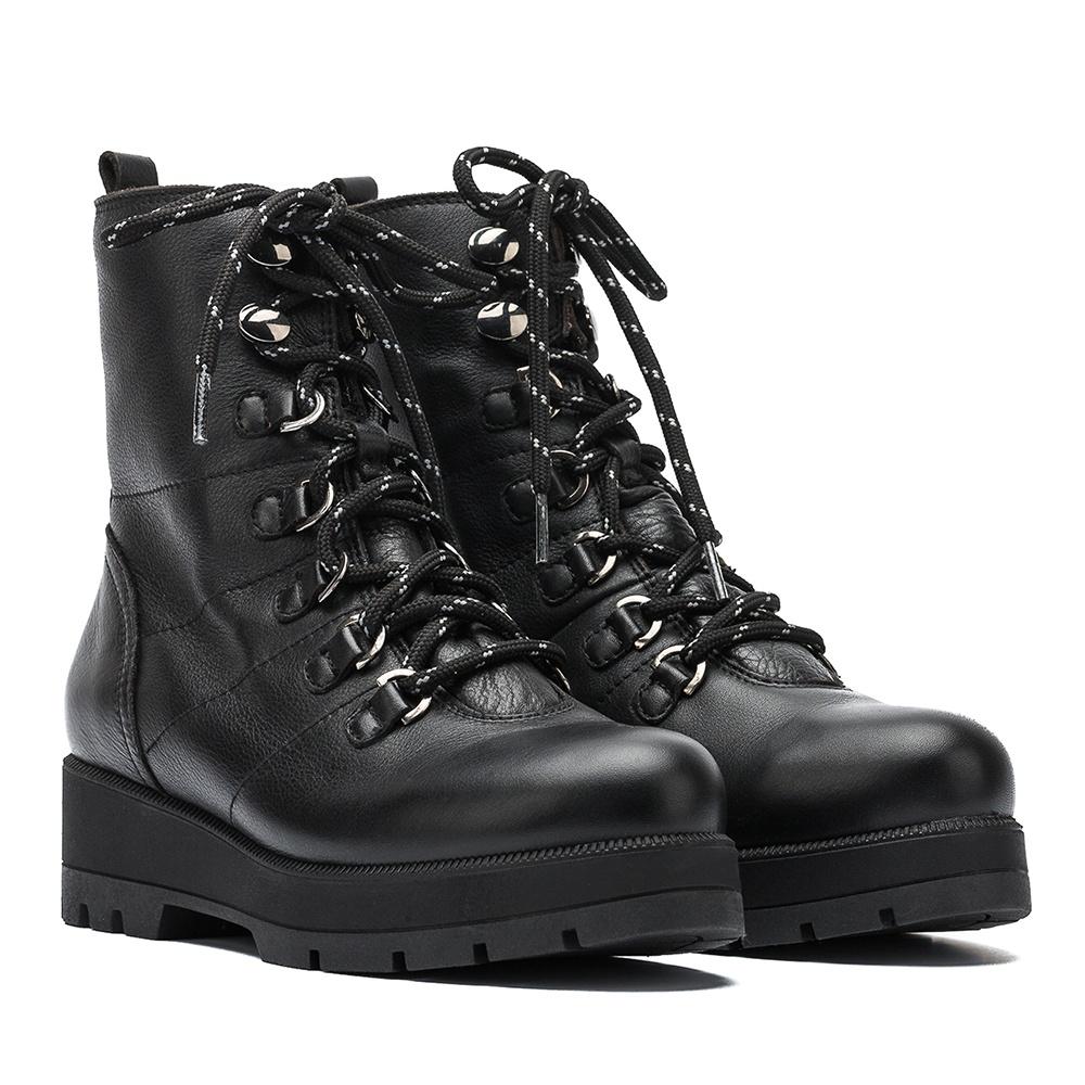 UNISA Black hiking booties FRODO_GLO black 2