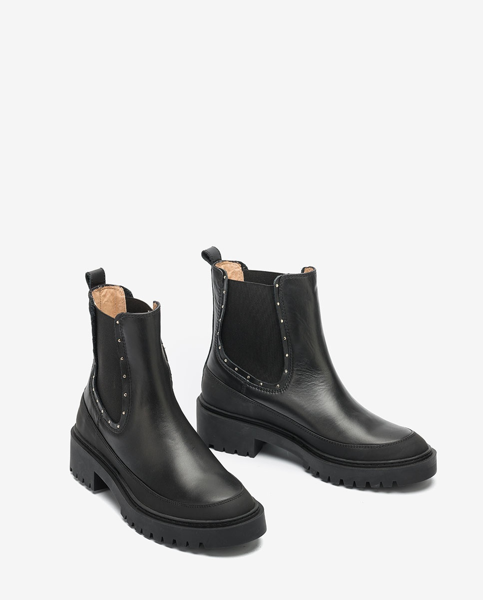 UNISA Riveted Chelsea ankle boots GIL_NF black 2
