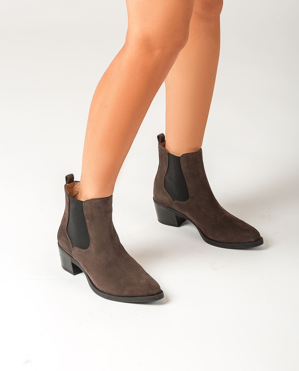 UNISA Cowboy Chelsea ankle boots GREYSON_F20_BS rhino 2