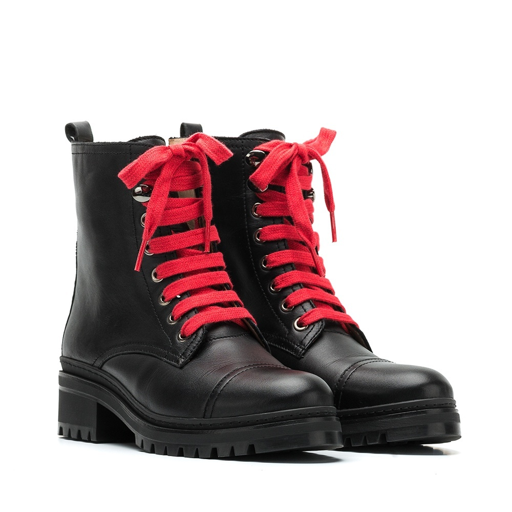 UNISA Laced military booties IBA_CLF black 2
