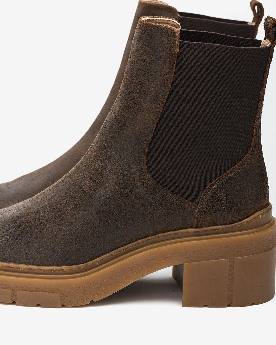 UNISA Track sole Chelsea ankle boots JIMENEZ_AV fondant 2