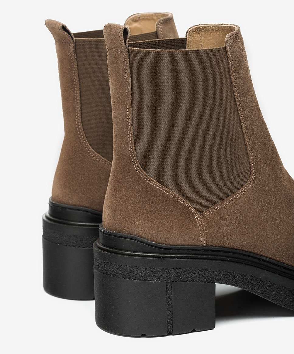 Unisa Ankle boots JIMENEZ_BS taupe