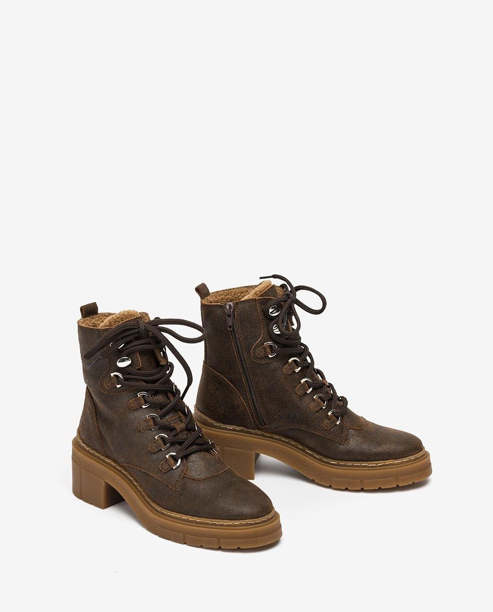 UNISA Women´s mountain ankle boots JIMUL_AV fondant 2