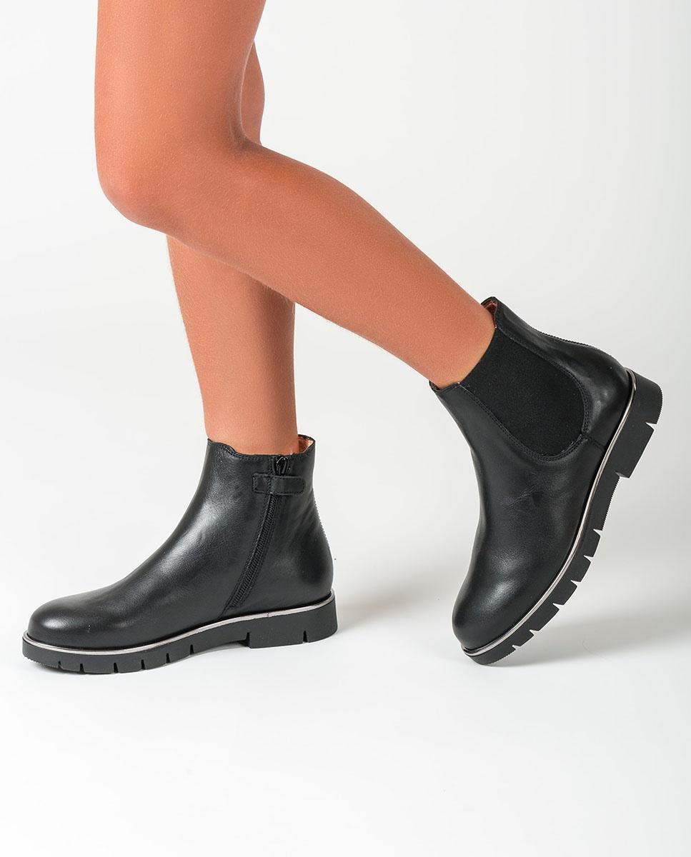UNISA Little girl´s black Chelsea little girl booties LAZAR_F20_CLF black 2