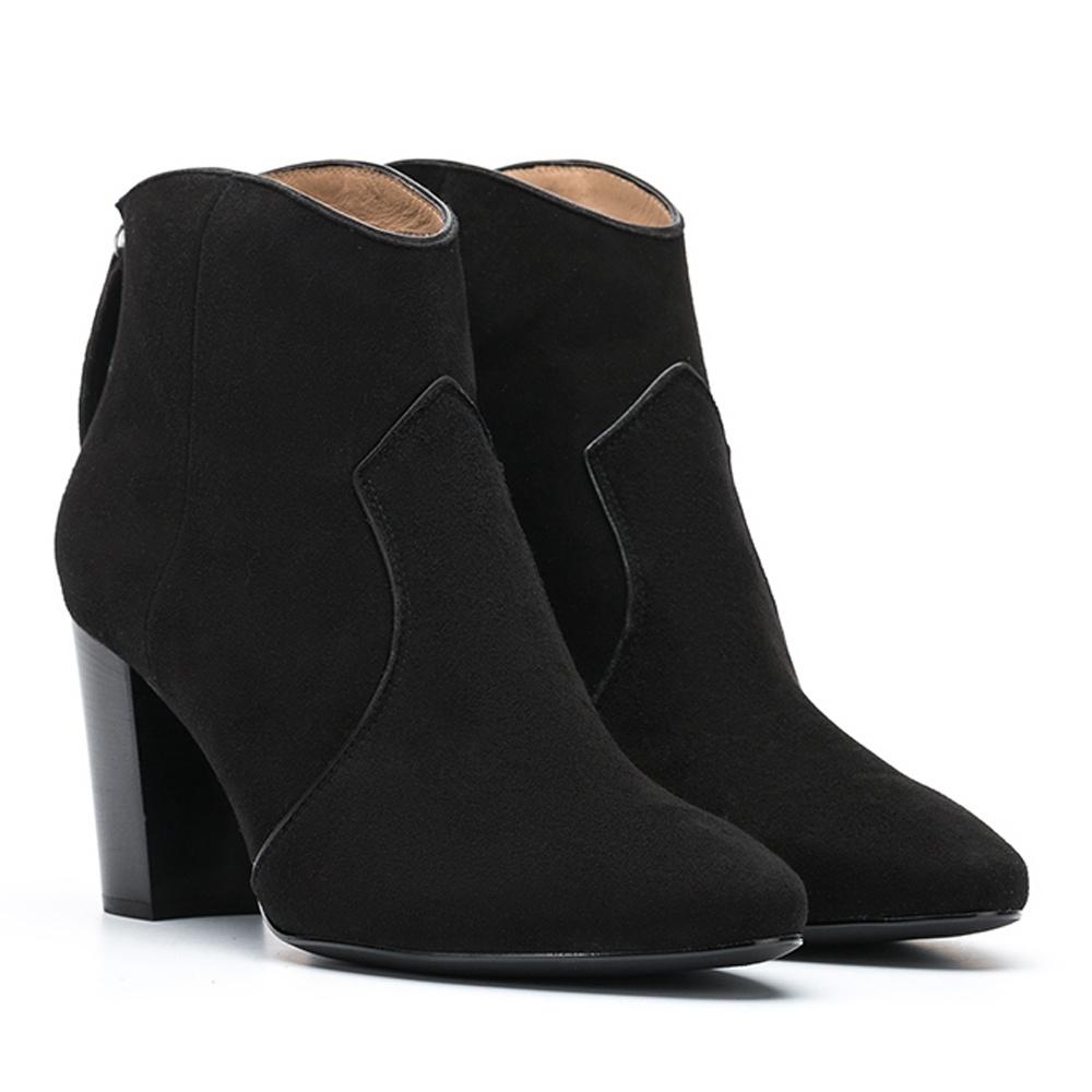 UNISA Embellished Cowboy booties NARELA_KS black 2