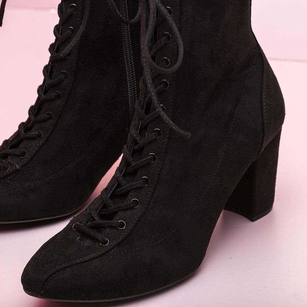 Unisa Ankle boots NISSAN_STL black