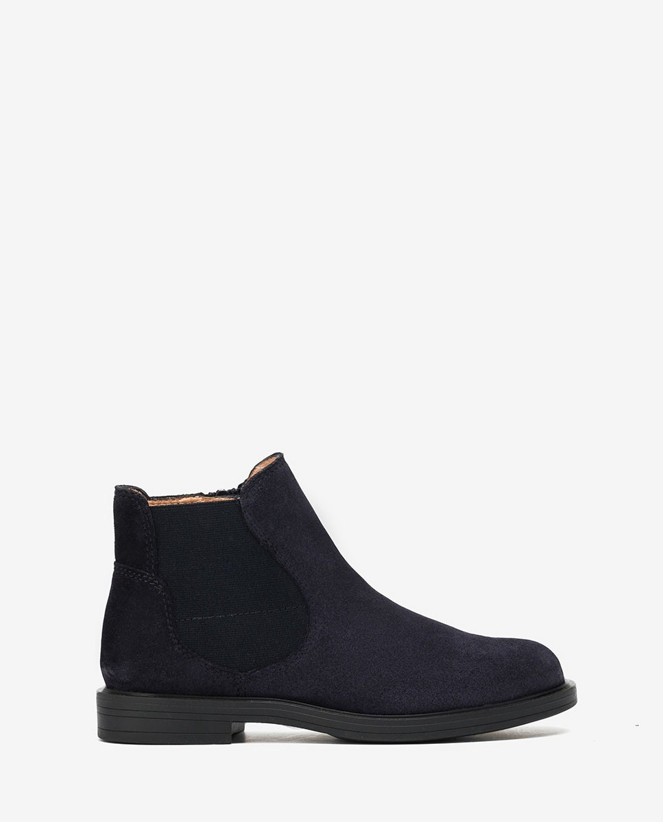 UNISA Navy blue ankle booties OLGUIS_F20_BS_NEG abyss 2