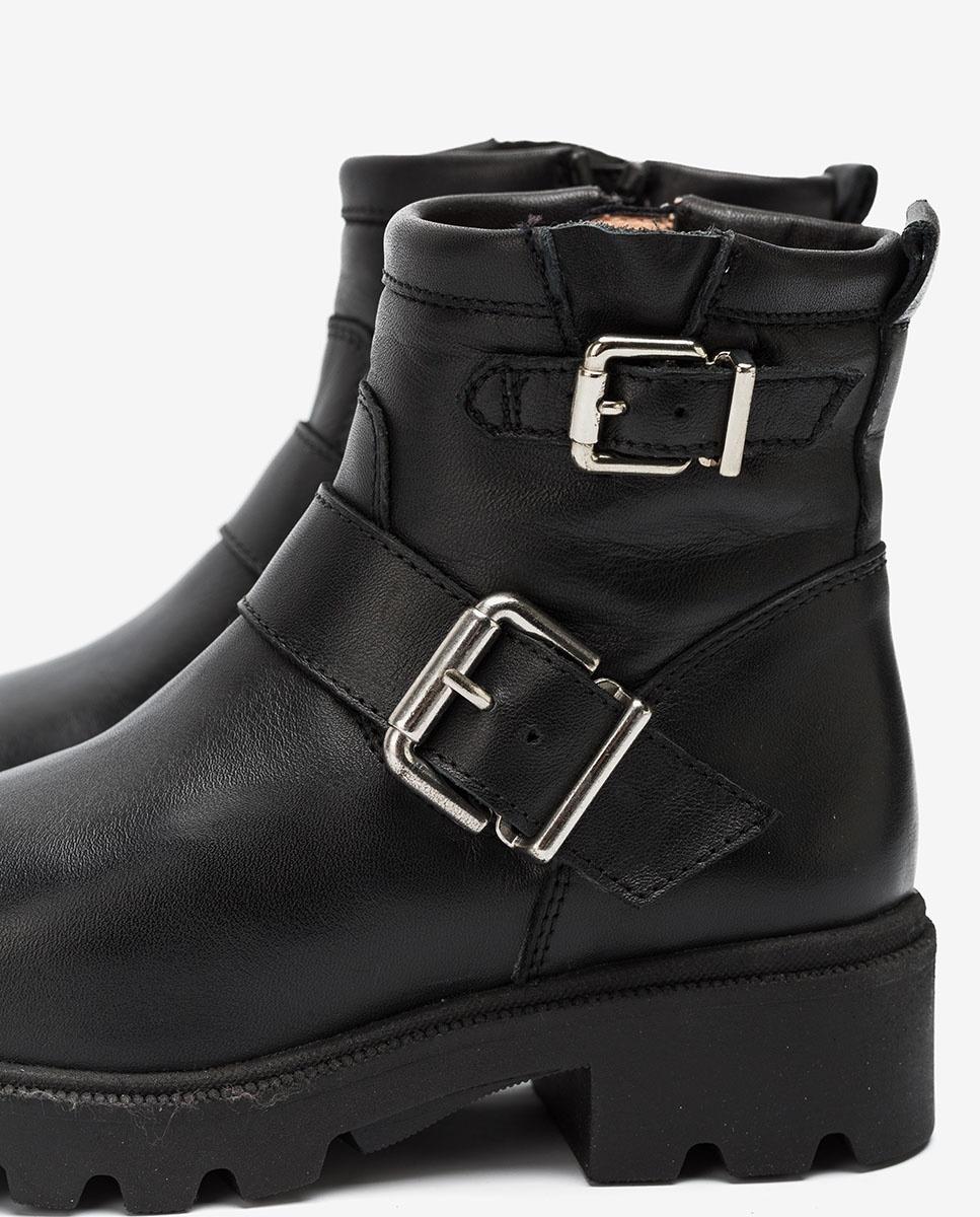UNISA Little girl´s biker style booties PEZABEL_F20_CLF black 2