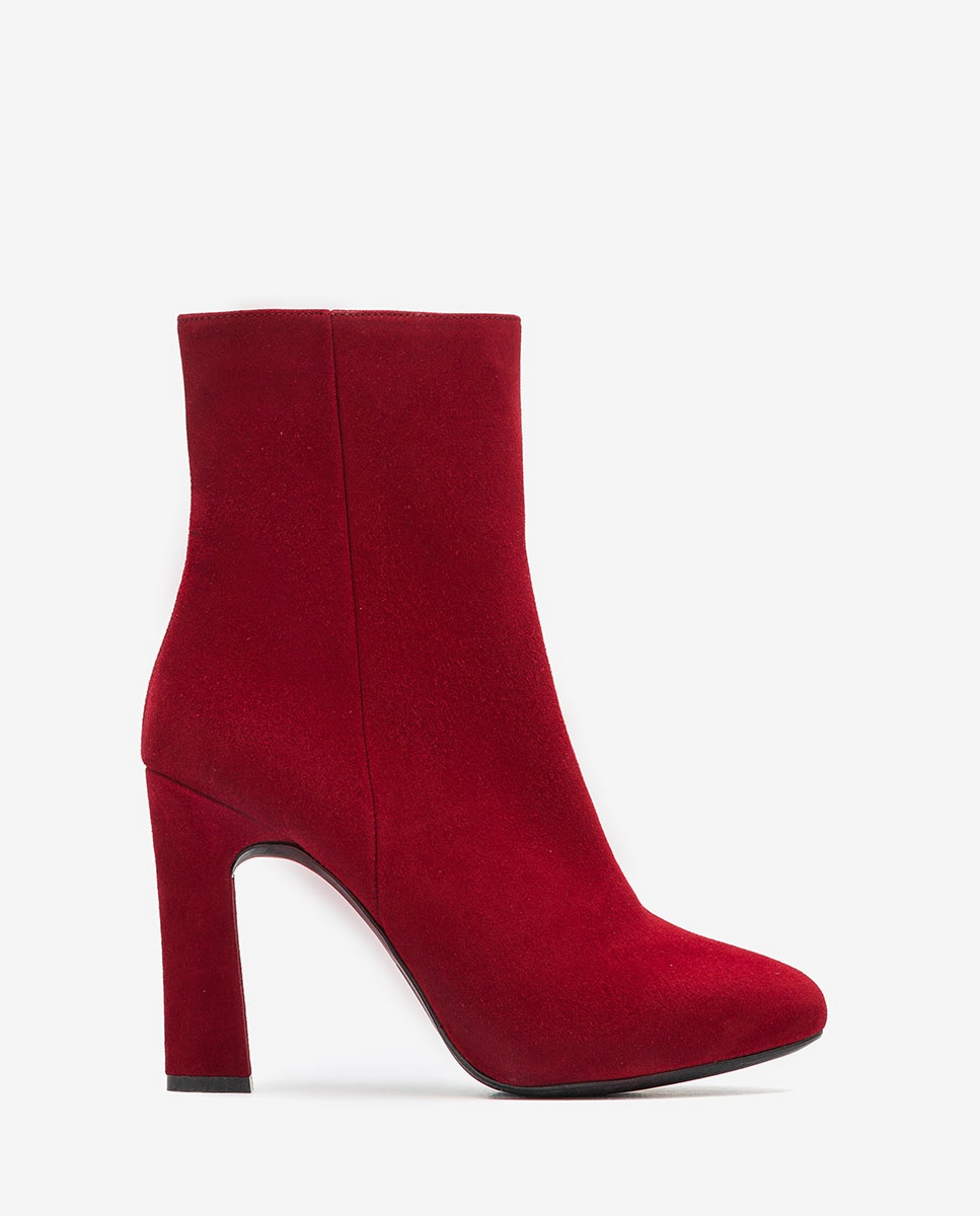 UNISA Kid suede heeled ankle boots PRIOR_KS bouquet 2