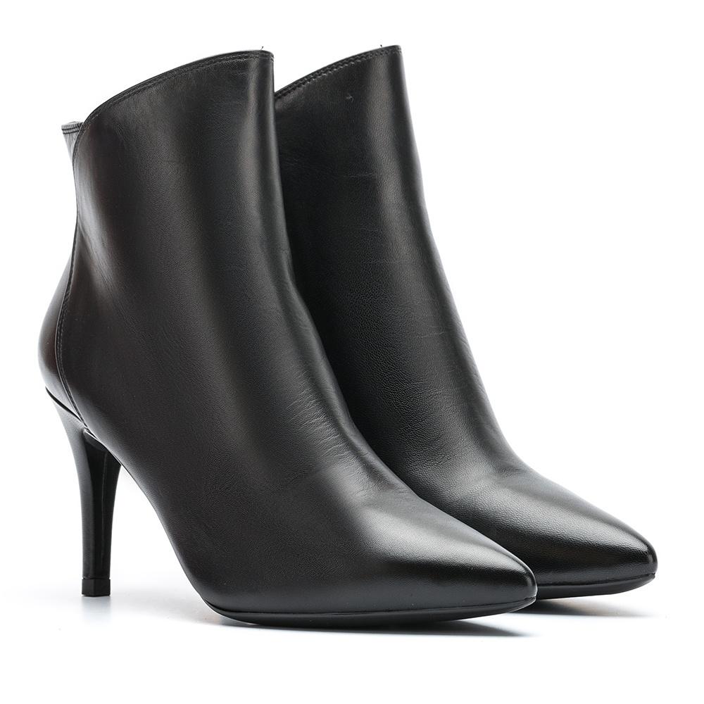 UNISA Thin tip heeled booties TILO_NA black 2