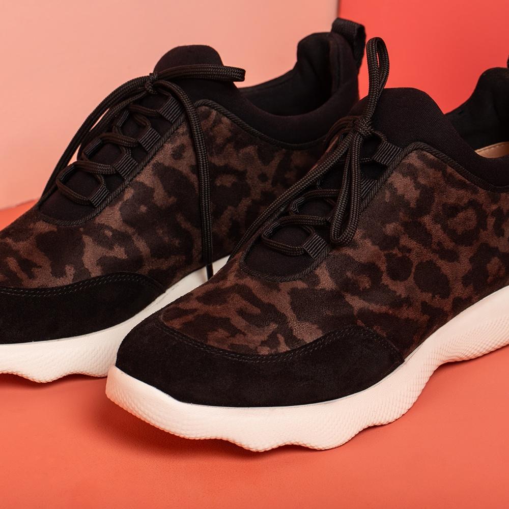 UNISA Women's animal print sneakers EMERY_SDE jaguar rhi 2