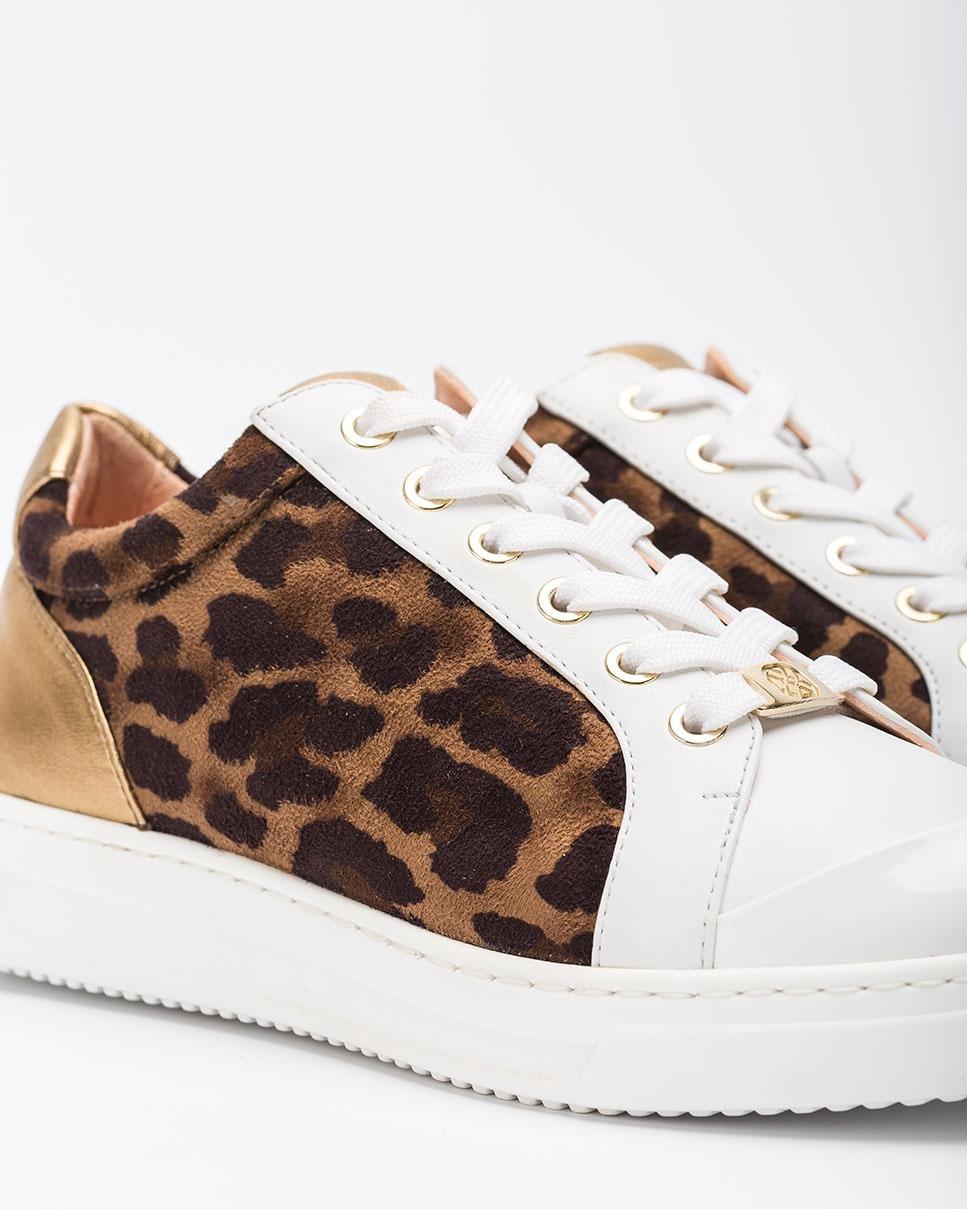 UNISA Contrast leopard sneakers FAIFAX_SDE_NF cumin/whit 2
