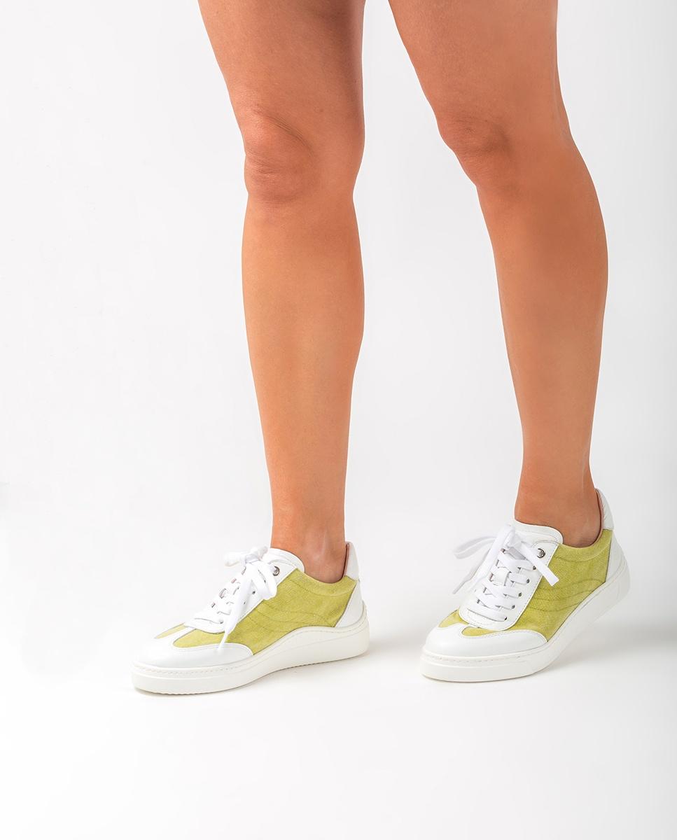 UNISA Ecolino sneakers FELISECO_NF_ECL white/lime 2