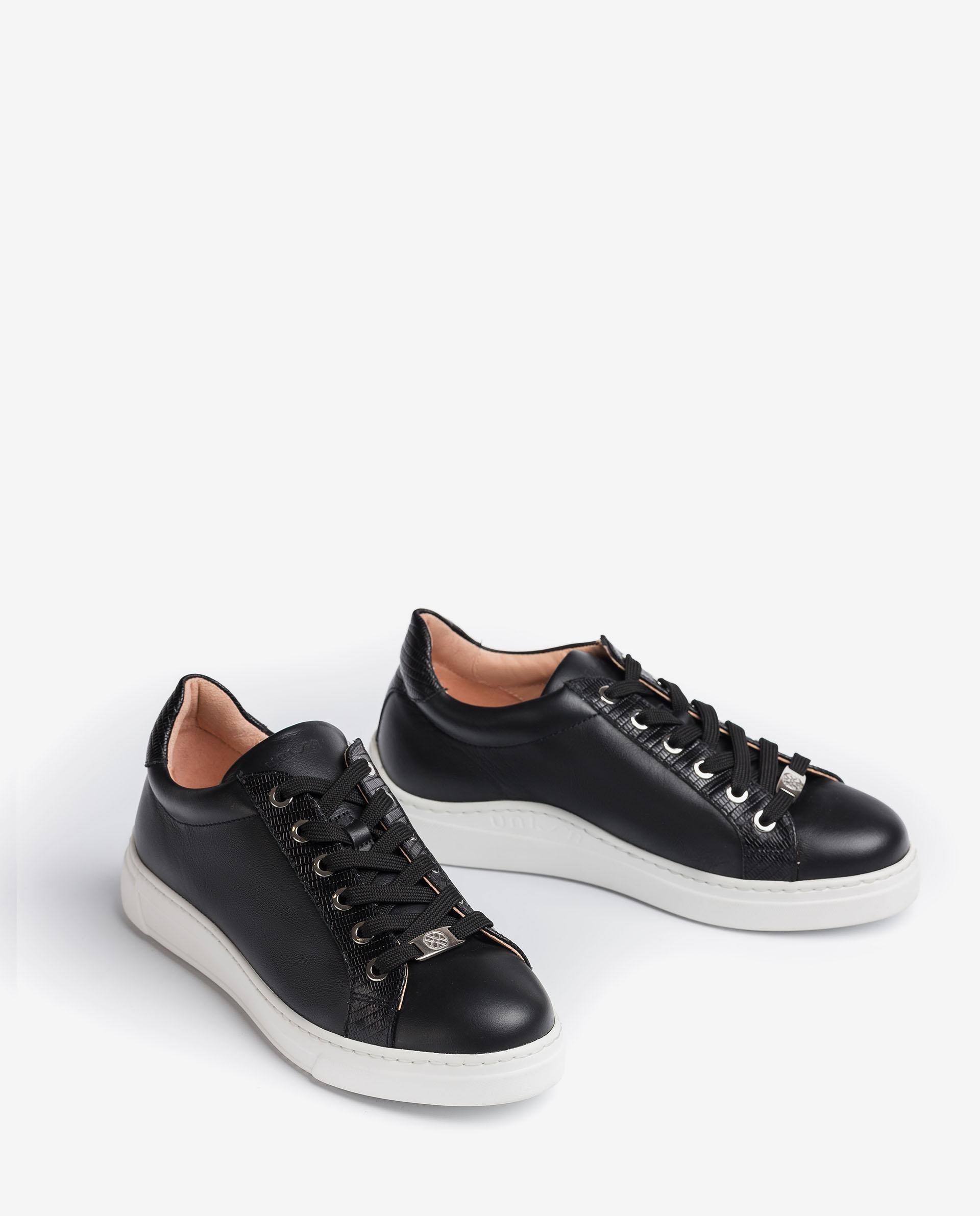 UNISA Contrast leather sneakers FRANCI_21_NF_BTJ 2