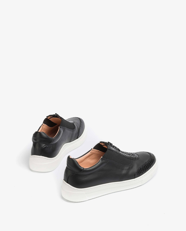 UNISA Zipper sneakers FUENTES_NF_REP black 2