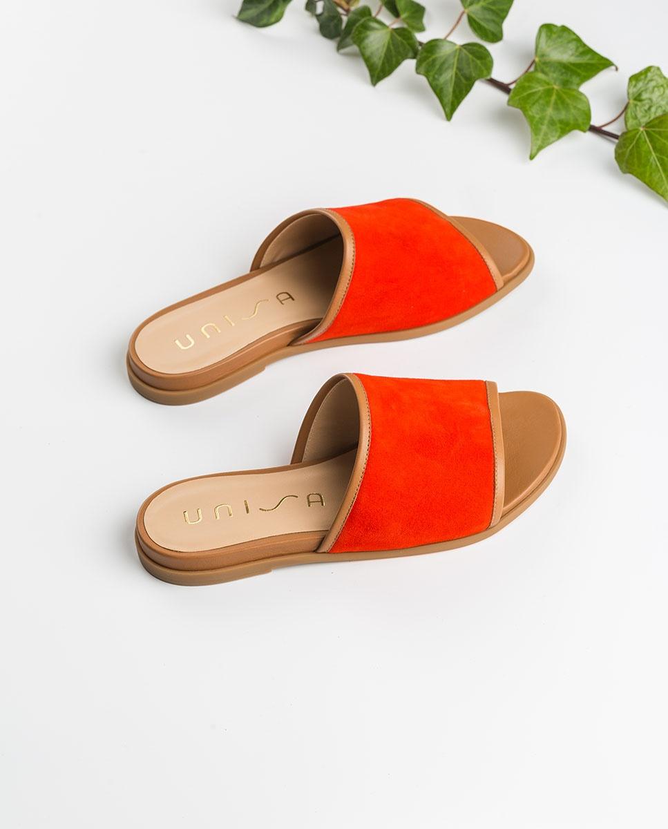 Unisa Toe post sandals CANDI_KS_NA corallo/bi