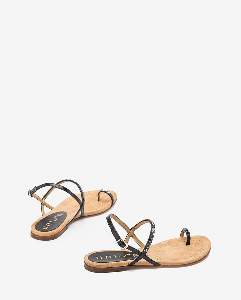 Unisa Toe post sandals CRUISE_20_NA black