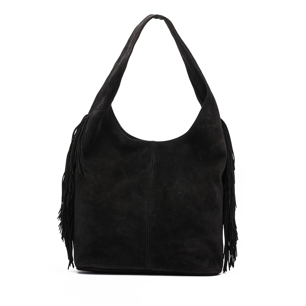 UNISA Fringes western tote bag ZPORTE_BS black 2