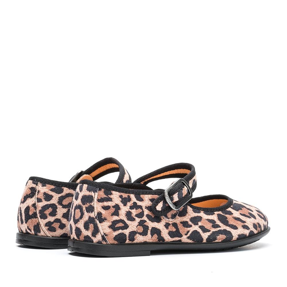 UNISA Little girl´s pink leopard Mary Janes SEYLA_F19_SLEO roxe 2