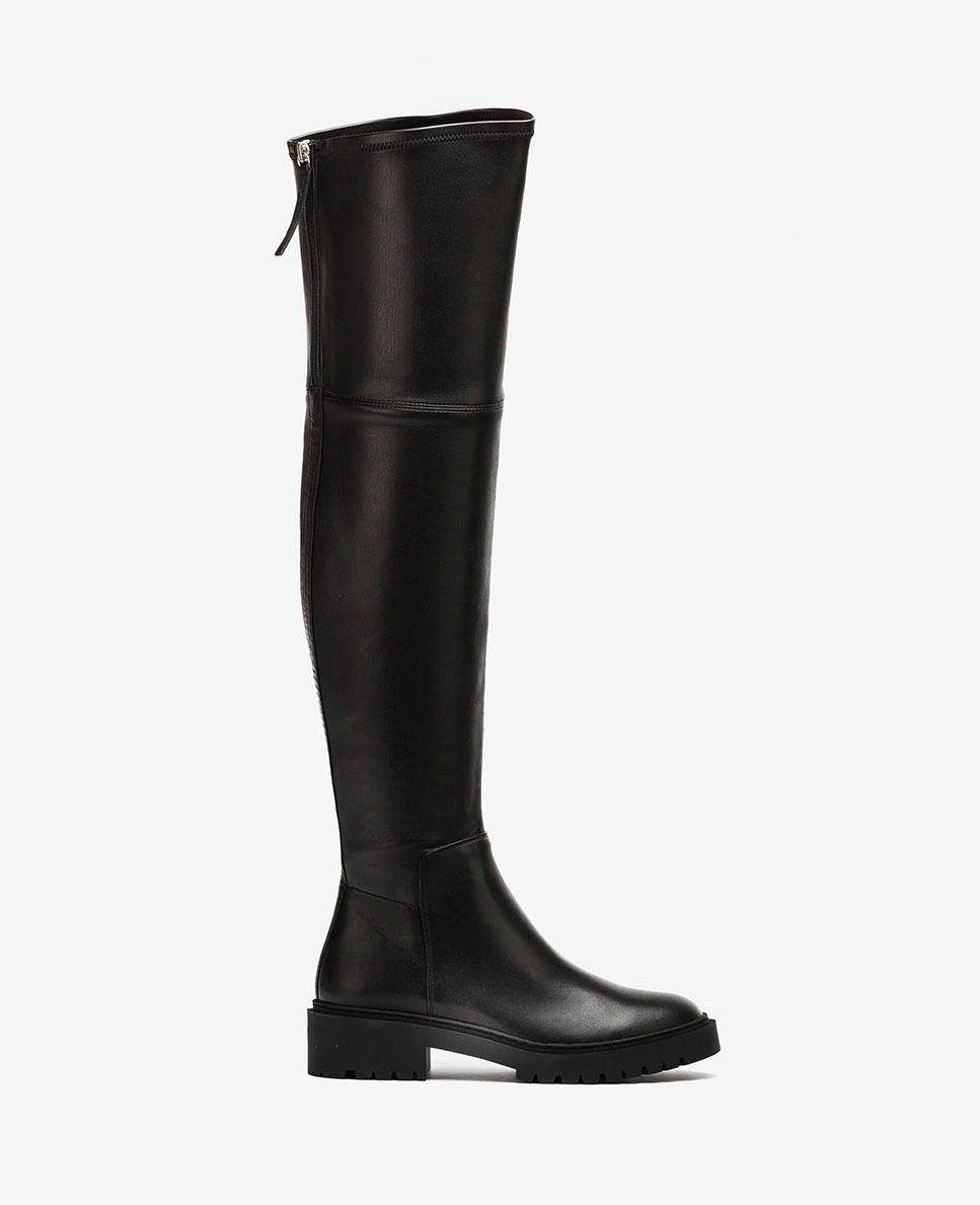 Unisa Over-the-knee boots GINKO_VU_STN black