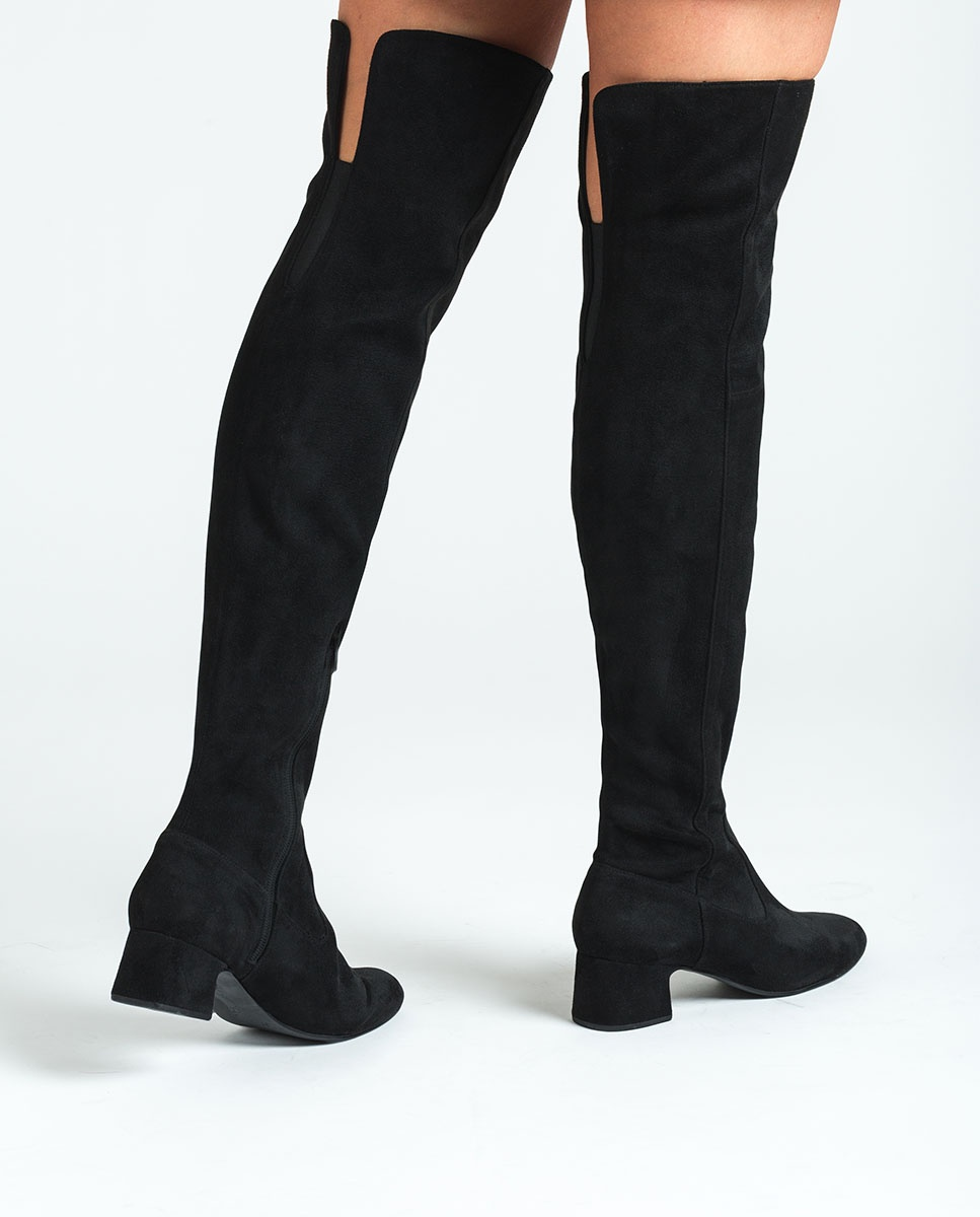UNISA Stretch musketeers boots LUKAS_ST black 2