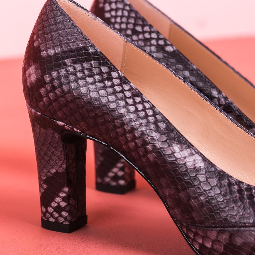 UNISA Classic snake effect heeled pumps NUMAR_CLASSIC_F19_VP tempest 2