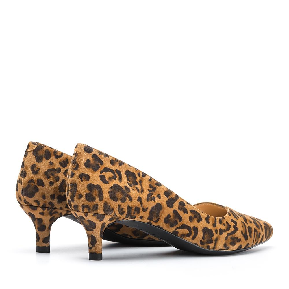 UNISA Kitten heel leopard effect pump JEDI_KL ginger 2