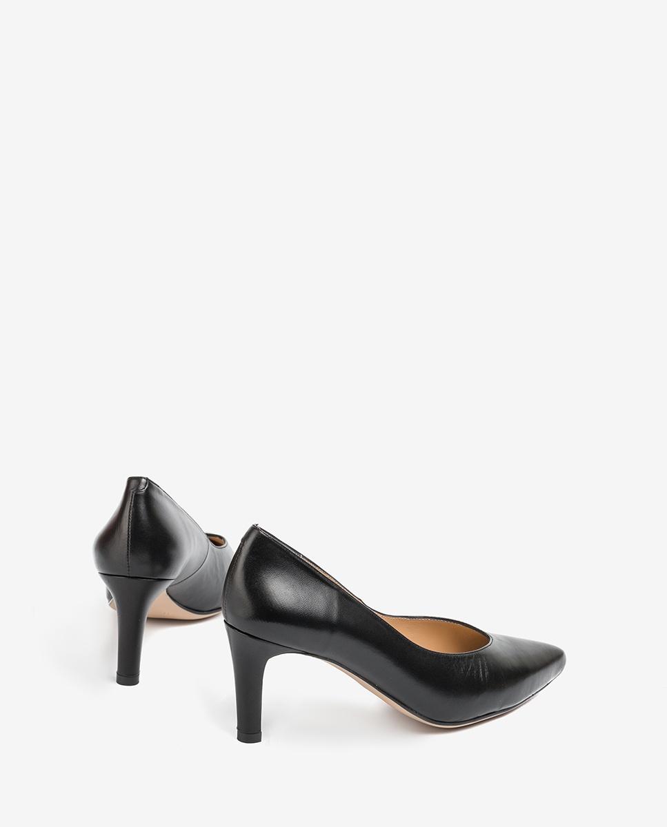 UNISA Pointy toe pumps V shaped topline KOLVIN_NA black 2