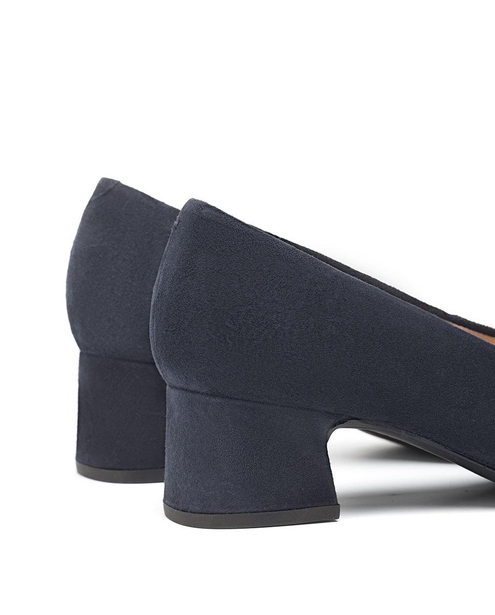 UNISA Kid suede pumps low heels LOREAL_F20_KS abyss 2