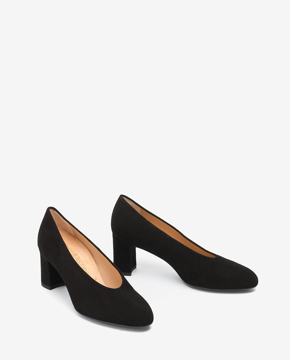 UNISA Women's high cut pumps MARIOS_KS black 2