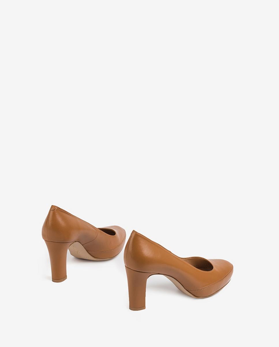 UNISA Women´s leather pumps NUMAR_20_NA bisquit 2