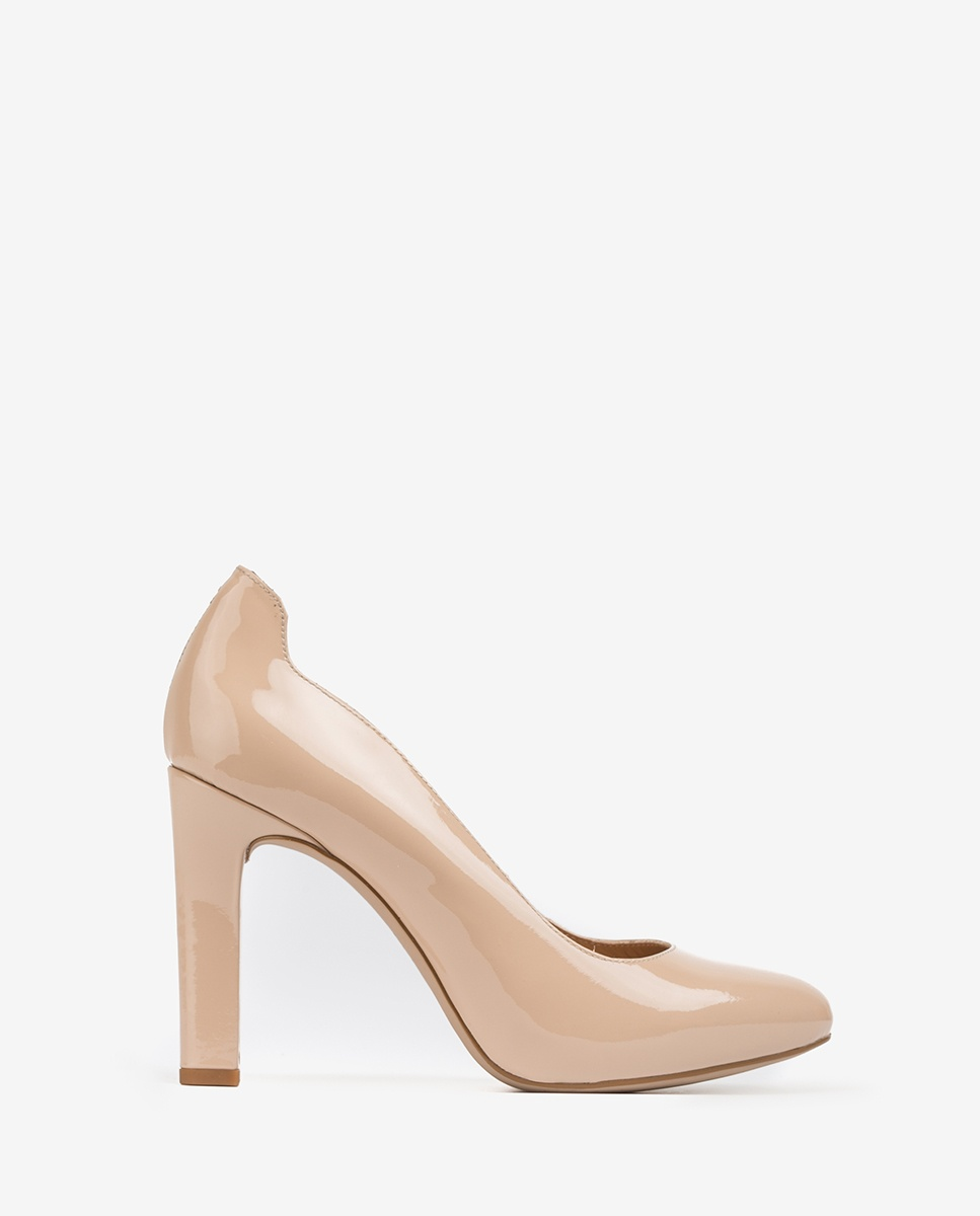 UNISA Patent leather high heel pumps PASCUAL_PA nude 2