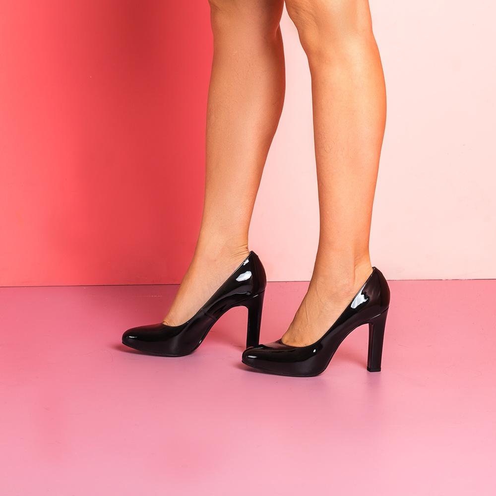UNISA High heel patent leather pumps PATRIC_F19_PA black 2