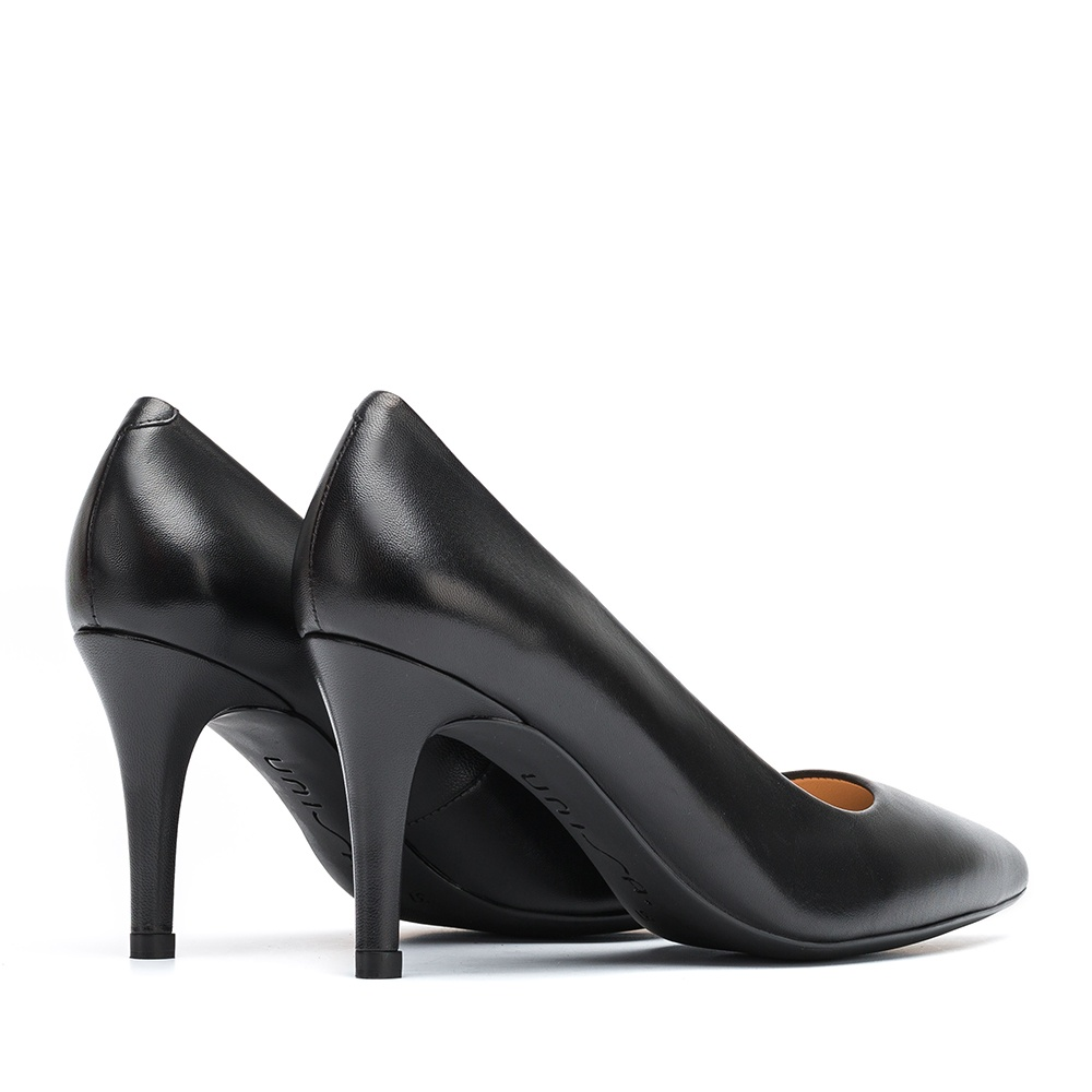 UNISA Leather pumps low top line TOLA_F19_NA black 2