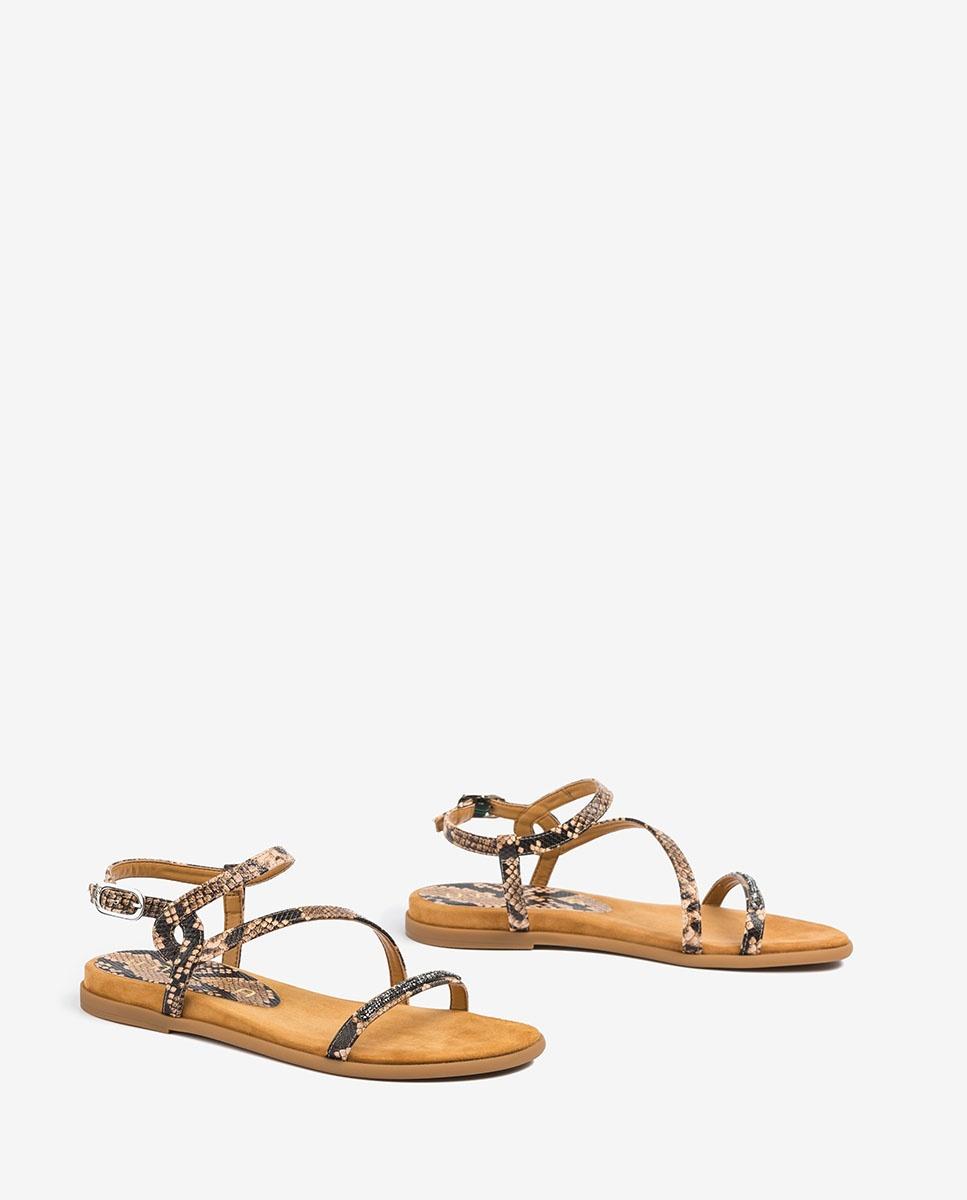 UNISA Snake Swarovski sandals CLARIS_VIP suntan 2