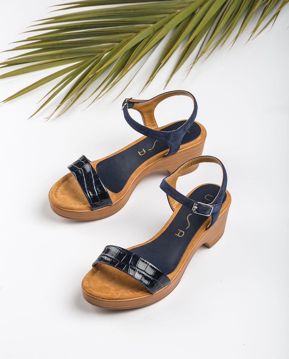 UNISA Croc bock sandals IRITA_20_CRW_KS ocean 2